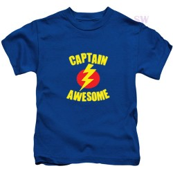 Captain Awesome Kids T Shirt