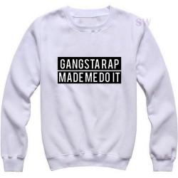 Gangsta Rap Made Me Do It Sweatshirt