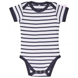Stripes Babysuit
