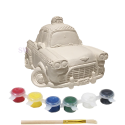 Paint Your Own Taxi Money Box