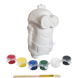 Paint Your Own Minion Money Box