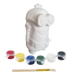 Paint Your Own Minion Money Box