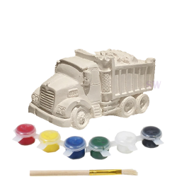 Paint Your Own Dump Truck Money Box