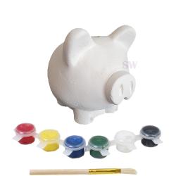 Paint Your Own Piggy Money Box