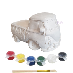 Paint Your Own Camper Van Money Box