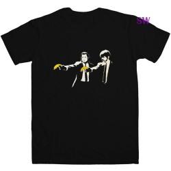 Banksy Pulp Fiction T-Shirt